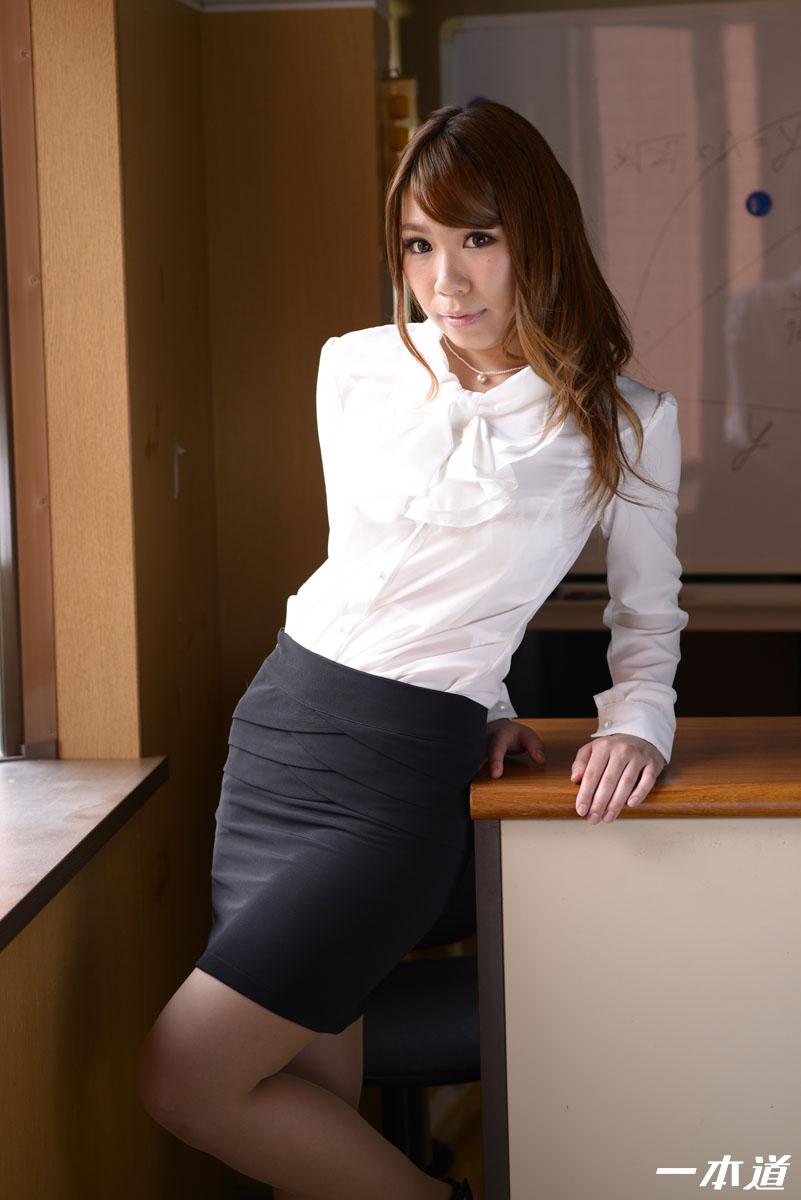 一本道・爆乳先生の特別性交補習授業・鈴村いろは・127623
