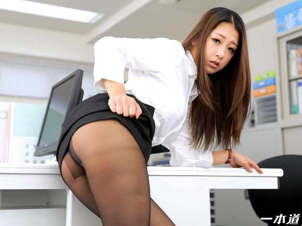 一本道・肉便器育成所 〜性欲処理課のノーパン女〜・鈴木さとみ・70234