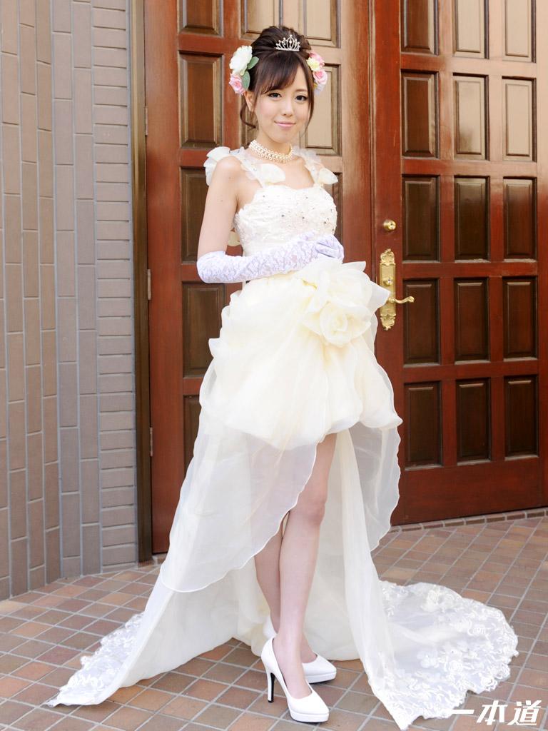 一本道・モデルコレクション ジューンブライド 山手栞・山手栞・60983