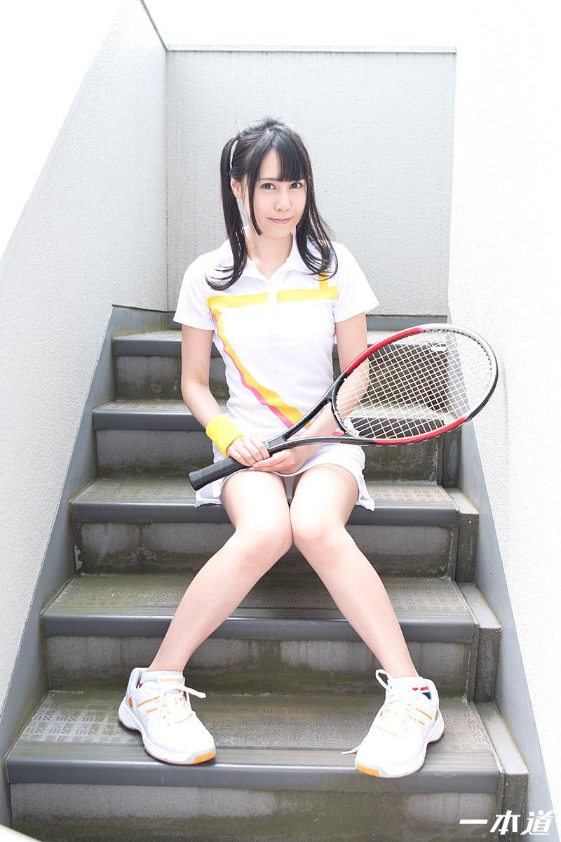 ときめき ~笑顔が爽やかなテニス女子~