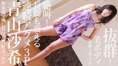 青山沙希 「カウパー旅行記 〜181cmのオンナ〜」